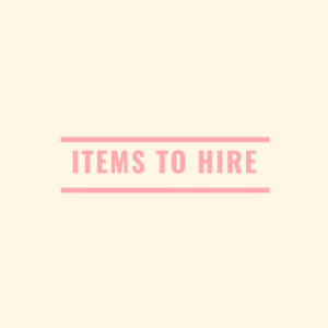 Items To Hire