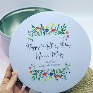 Mother's Day Crates, Boards, Tins & Bags