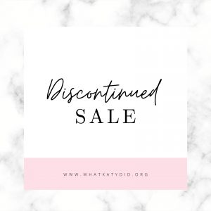 Discontinued sale